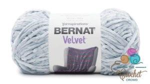 Bernat Velvet Softened Blue Yarn