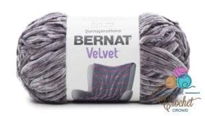 Bernat Velvet Vapour Gray Yarn