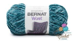 Bernat Velvet Velvet Teal Yarn