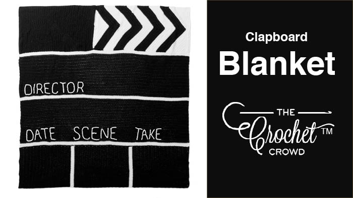 Crochet Clapboard Blanket
