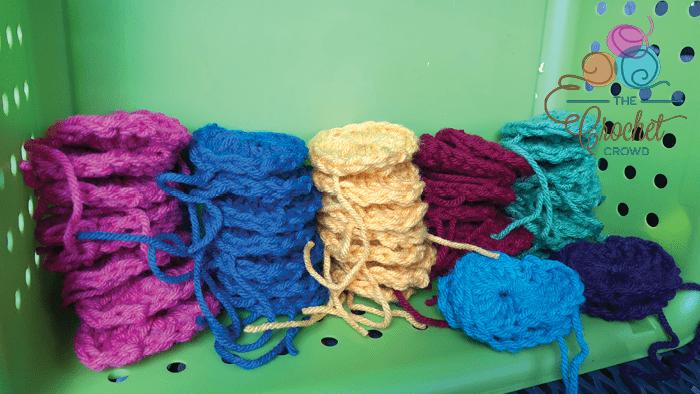 Randomizing Crochet Motif Colors