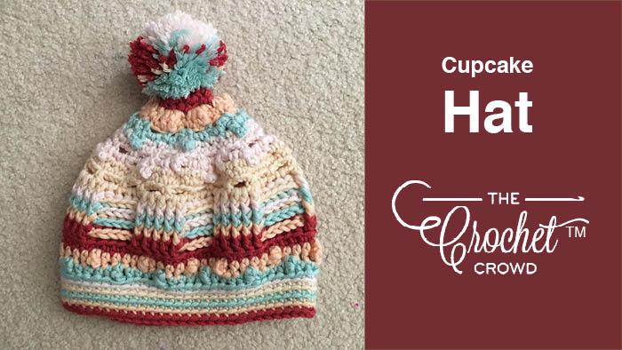 Crochet Caron X Pantone Cupcake Hat 0ea07ac8279