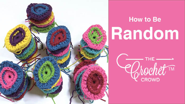Randomize by Color for Crochet Motifs