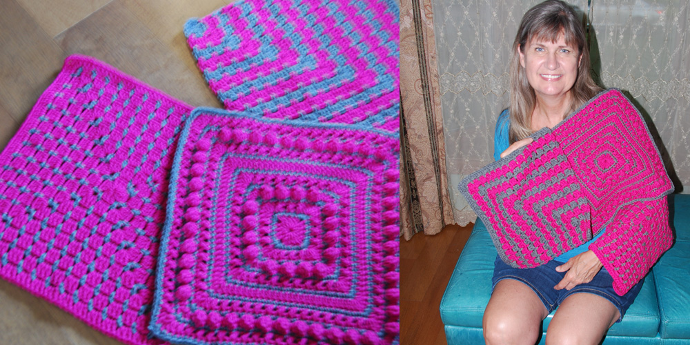 Jeanne - Squares for Sarah