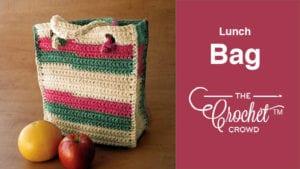 Crochet Lunch Bag