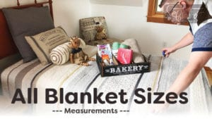 All Crochet Blanket / Afghan Sizes