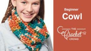 Crochet Beginner Cowl