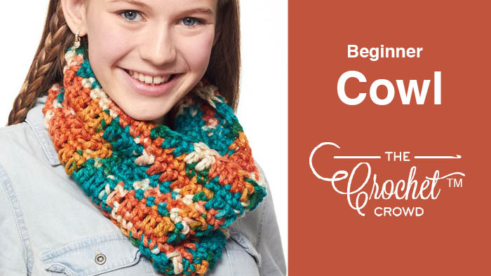 Crochet Beginner Cowl