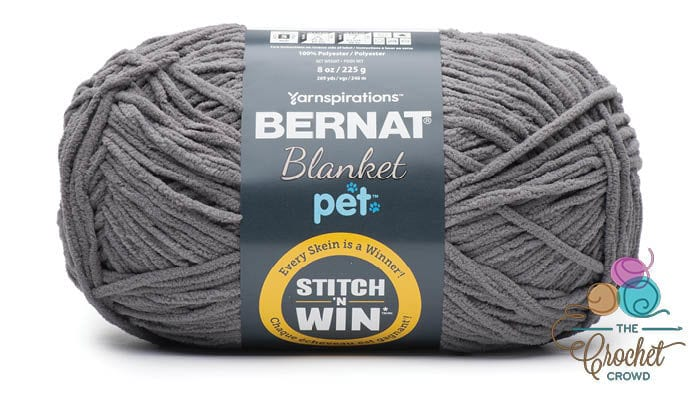 Bernat Blanket Pet - Dark Gray