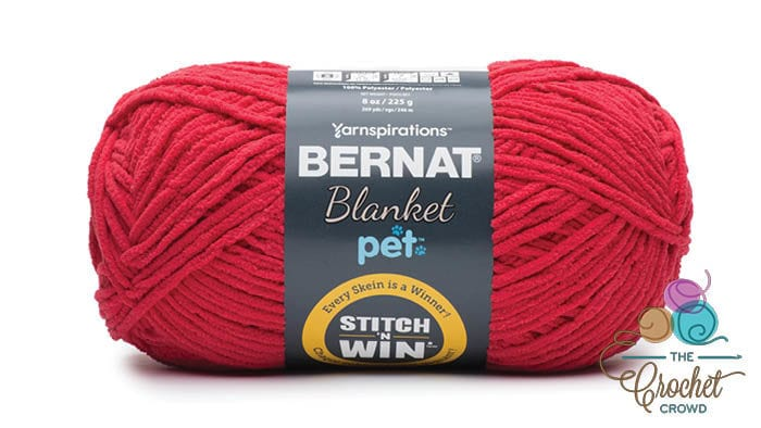Bernat Blanket Pet - Red