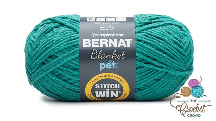 Bernat Blanket Pet - Teal
