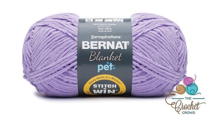 Bernat Blanket Pet - Violet