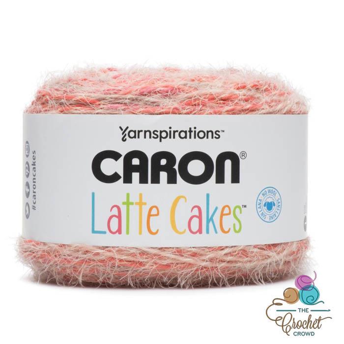 Caron Latte Cakes Yarn - Red Macaron