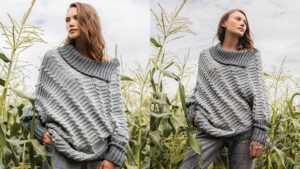Crochet Cape Cho