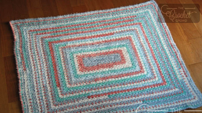 Crochet Latte Lapghan