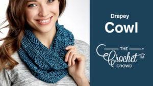 Crochet Drapey Cowl