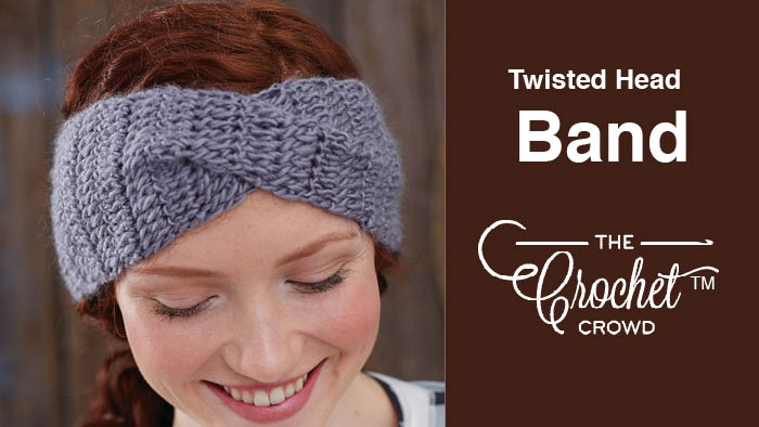 Crochet Twisted Head Band
