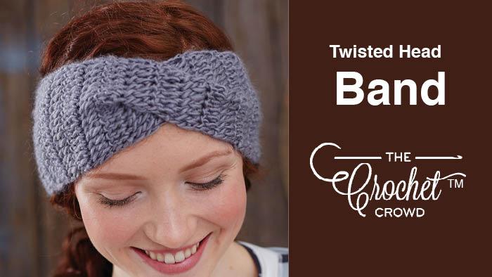 Crochet Twisted Head Band Pattern