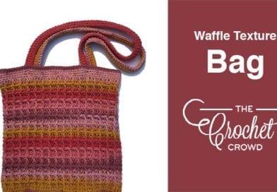 Crochet Waffle Texture Bag