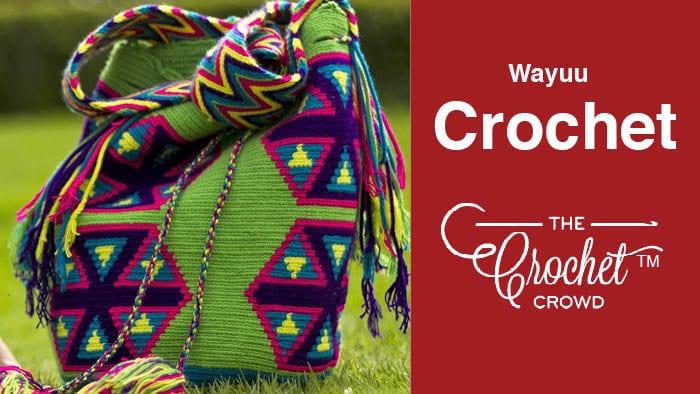 Wayuu Crochet for Mochilas