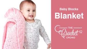 Crochet Baby Blocks Blanket