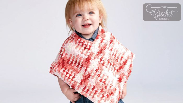 Crochet Baby Poncho Tutorial The Crochet Crowd