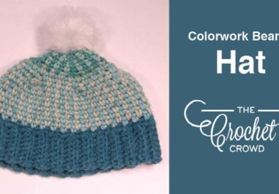 Colorwork Beanie Style Hat