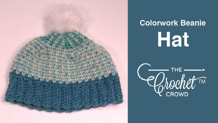 f39e197d149 Crochet Colorwork Hat Beanie Style + Tutorial
