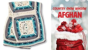 Crochet Country Snow Window Afghan