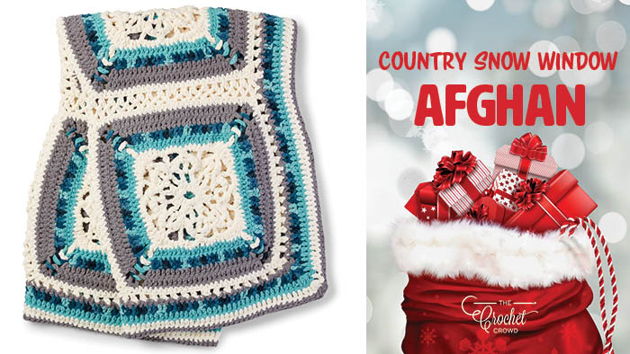 Crochet Country Snow Window Afghan