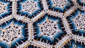 Crochet Winter Blizzard Afghan