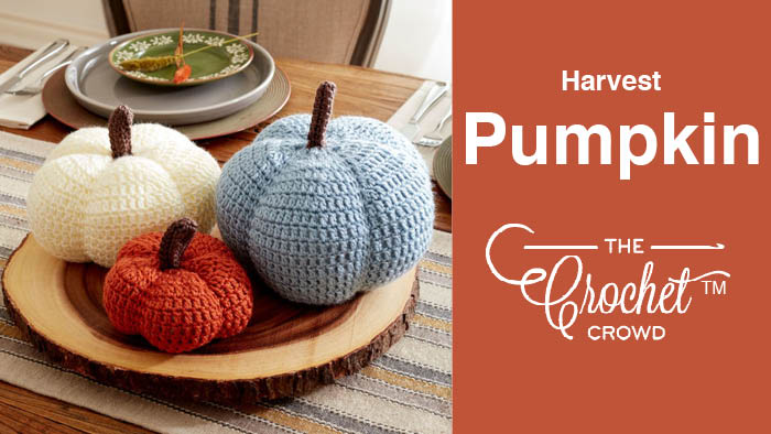 Crochet Harvest Pumpkin