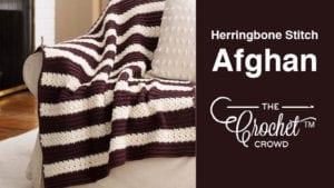 Crochet Herringbone Stitch Afghan