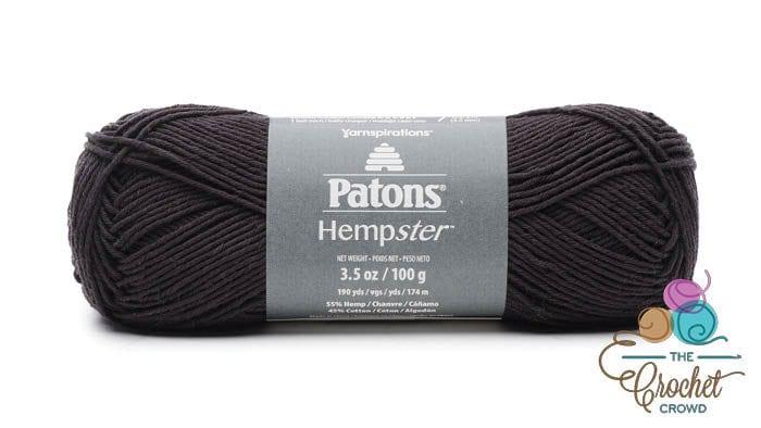 Patons Hempster Yarn - Black