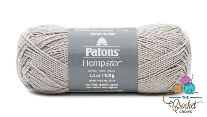 Patons Hempster Yarn - Dove Gray