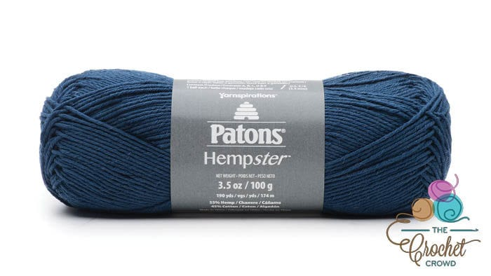 Patons Hempster Yarn - Navy