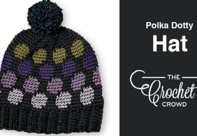 Crochet Polka Dotty Hat