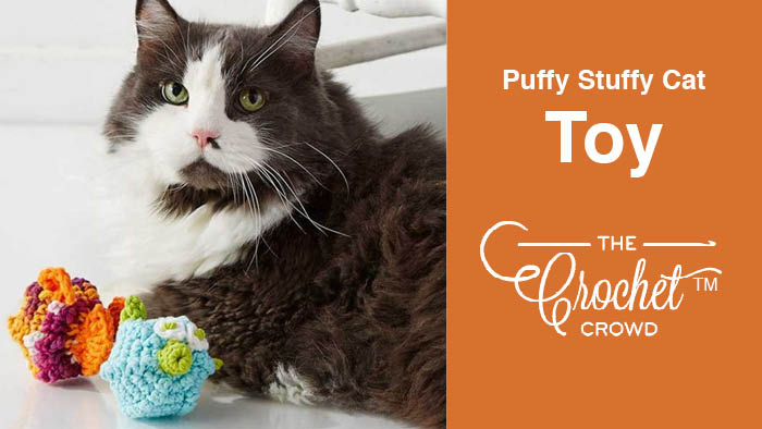 Crochet Puffy Stuffy Cat Toy
