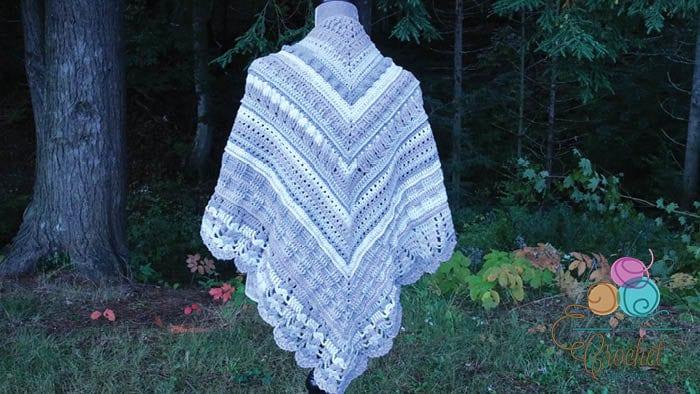 Crochet Study of Texture Shawl