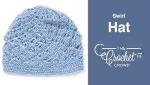Crochet Swirl Hat