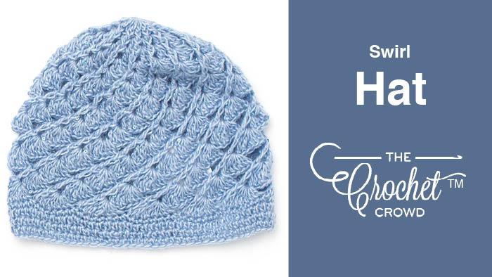Crochet Swirl Hat Pattern + Tutorial