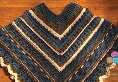 cdb39bccb Crochet Study of Texture Poncho
