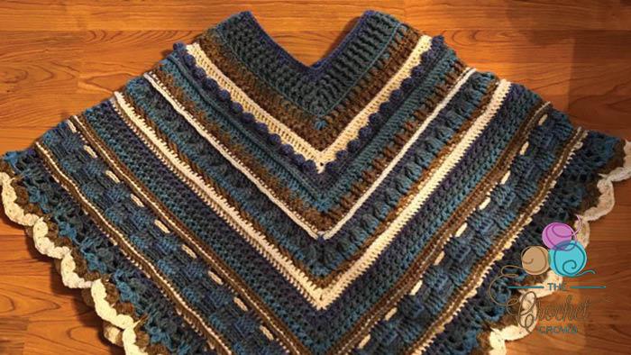 Crochet Study Of Texture Poncho The Crochet Crowd