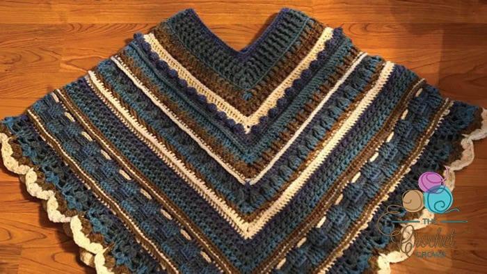 Crochet Study of Texture Poncho