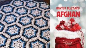 Crochet Winter Blizzard Afghan