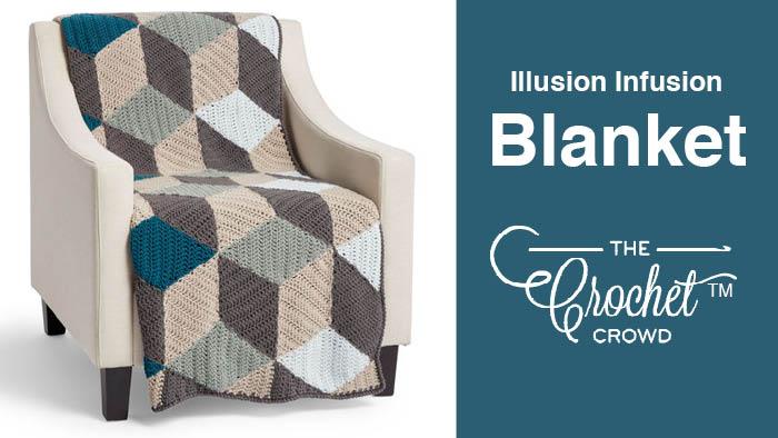 Crochet Illusion Infusion Blanket Pattern