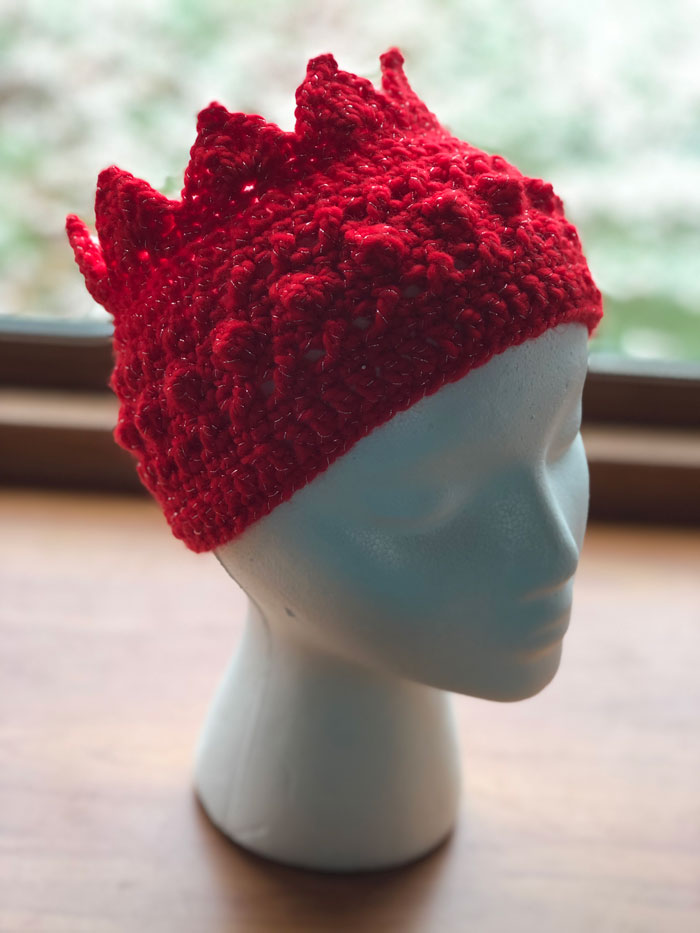 Hugs & Kisses Crown Headband by Jeanne Steinhilber