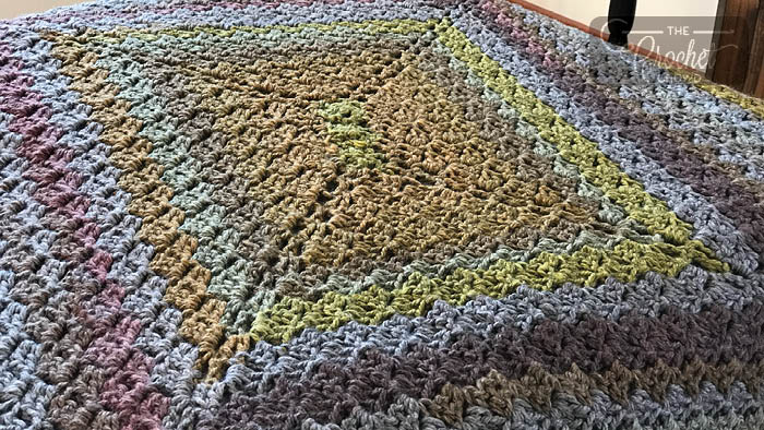 Crochet C2C x 4 Rect Afghan + Tutorial | The Crochet Crowd