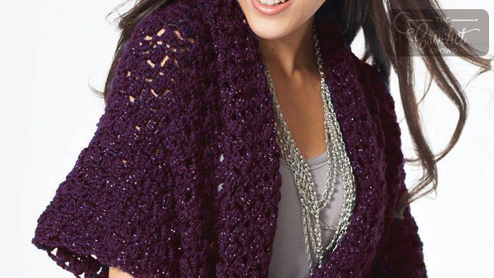 Crochet Starlette Shawl Pattern