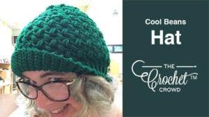 Crochet Cool Beans Hat